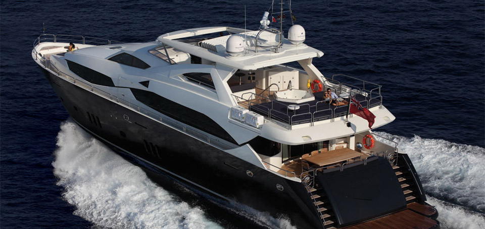 Sunseeker Yacht 34M